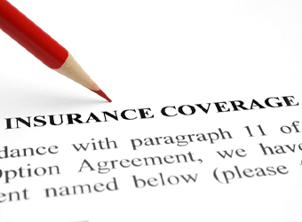 Policy for insurance coverage.