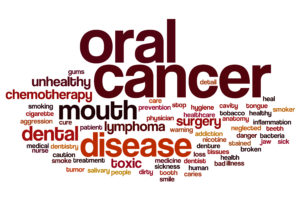 red oral cancer word cloud