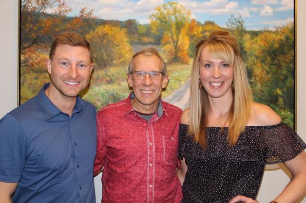 Dr. Markus Wilson, Dr. Jerry Janzen, and Dr. Jenna Gogolinski